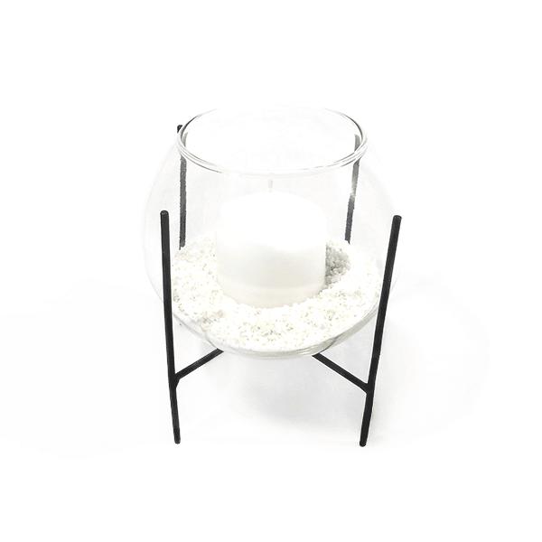 Le Blanc Kerzenhalter Noir