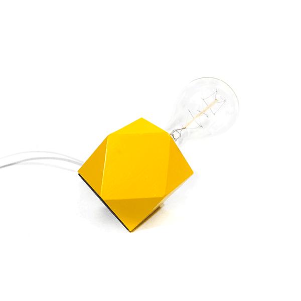 Origami Tischlampe Bahia Gelb