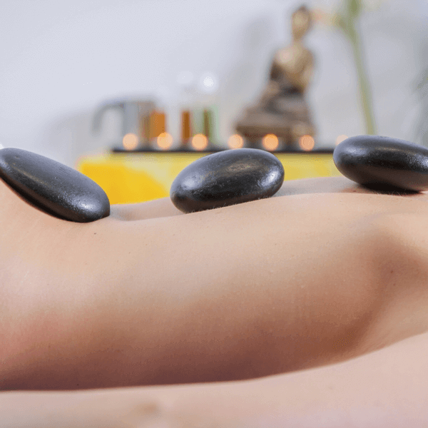 """Hot Stone Therapy"" Steine"