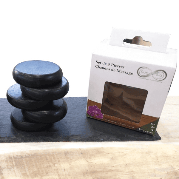 """""""Hot Stone Therapy"""" Steine"""