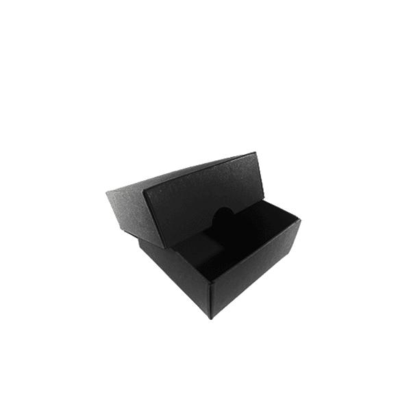 Stülpdeckel-Box (schwarz)