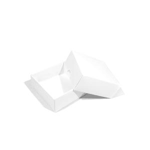 Stülpdeckel-Box (weiß)