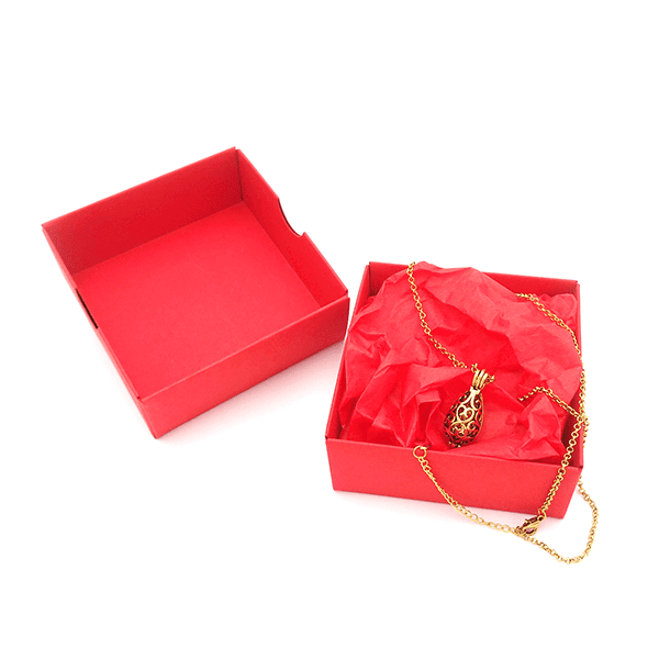 Red Droplet Box
