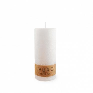 Pure Olive Wax Kerze(weiß)